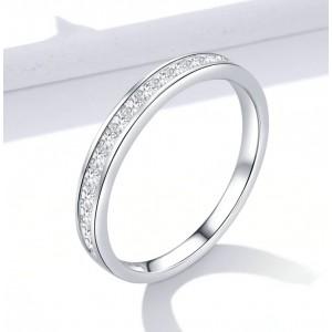 """Кольцо из серебра """"Паве"""", С8704"""