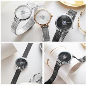"""Часы женские """"SK"""", черные, С8852"""