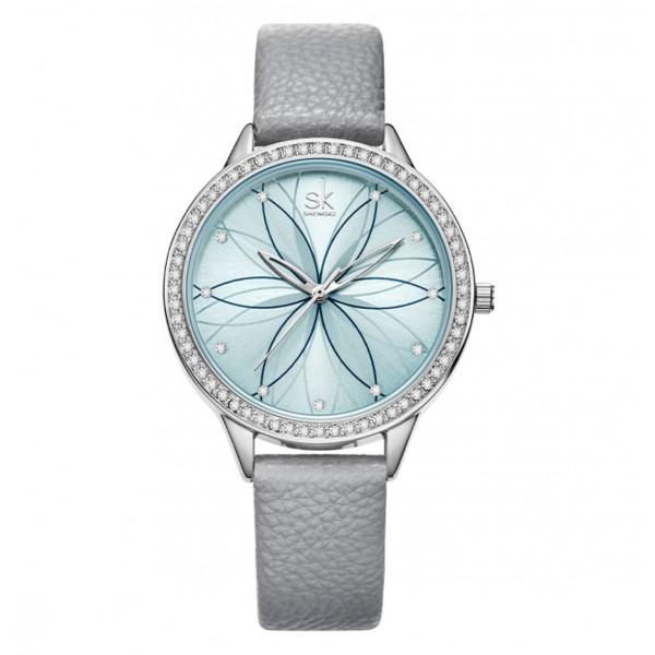 """Часы женские """"SK"""", серые, С8854"""