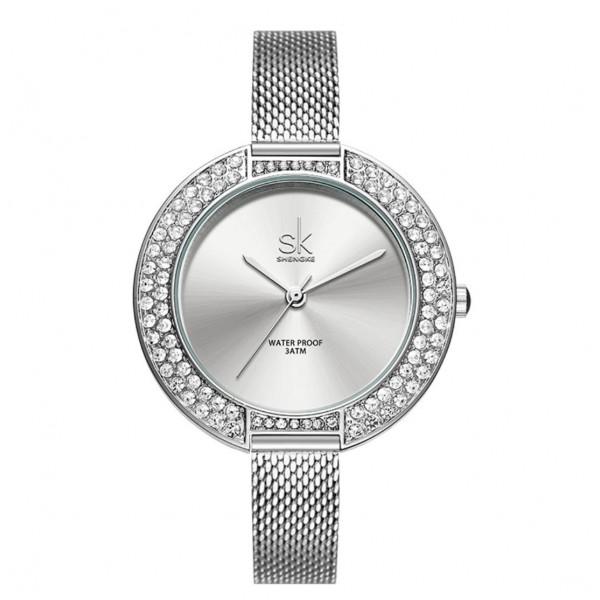 """Часы женские """"SK"""", серебристый, С8857"""