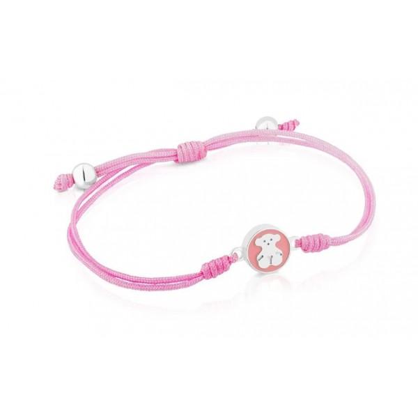 """Браслет рожевий """"TOUS"""", С8906"""