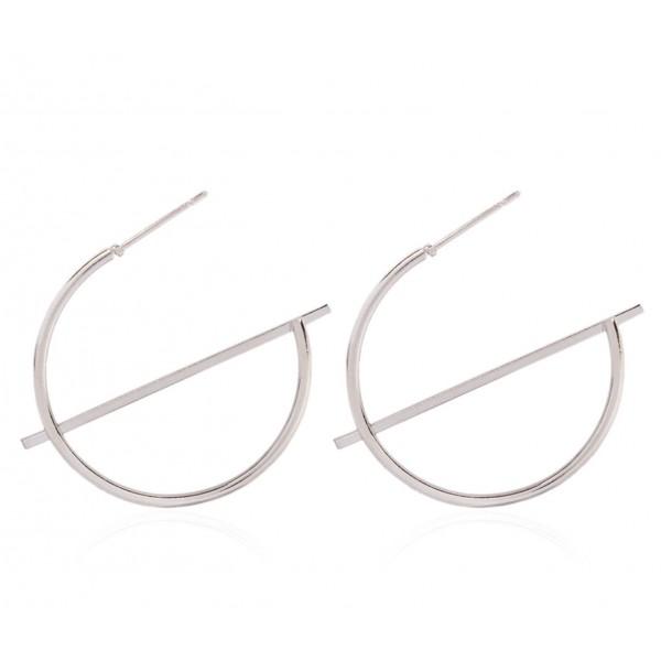 """Жіночі сережки """"Кільця"""", С9002"""