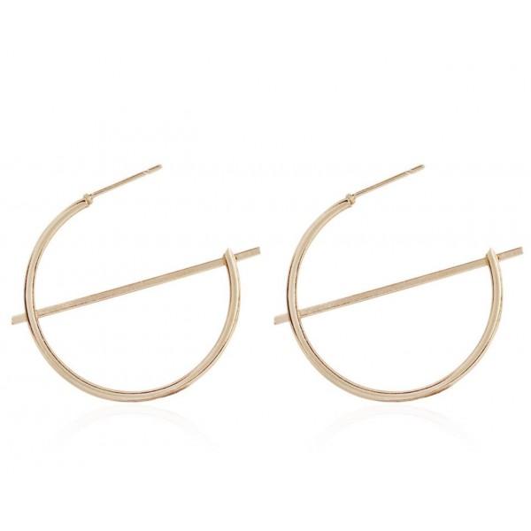 """Жіночі сережки """"Кільця"""", С9003"""