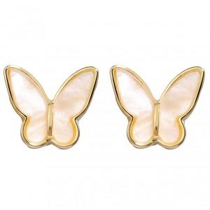 """Жіночі сережки """"Метелики"""", С9180"""