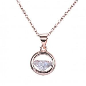 "Жіночий кулон ""Діамант"", С9290"