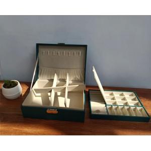 Шкатулка для украшений органайзер, белая, С9300