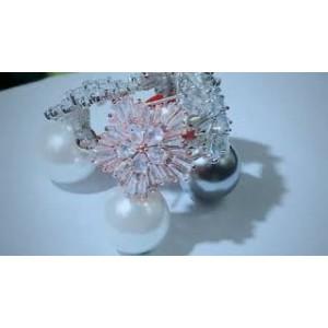 Сережки жіночі з перлами, С6822